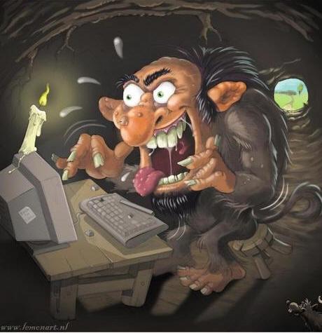 ugly troll